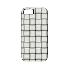 White Weave Apple iPhone 5 Classic Hardshell Case (PC+Silicone)
