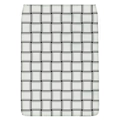 White Weave Removable Flap Cover (Large)