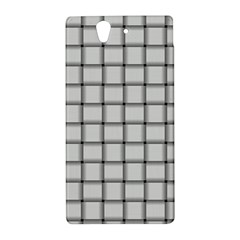 White Weave Sony Xperia Z L36H Hardshell Case