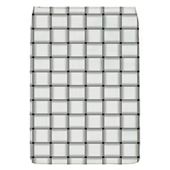 White Weave Removable Flap Cover (small)