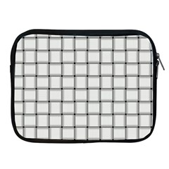 White Weave Apple iPad 2/3/4 Zipper Case