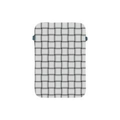 White Weave Apple iPad Mini Protective Soft Case