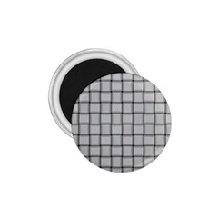 Gray Weave 1 75  Button Magnet