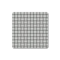 Gray Weave Magnet (square)