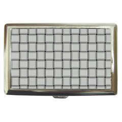 Gray Weave Cigarette Money Case
