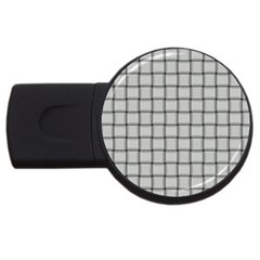 Gray Weave 2gb Usb Flash Drive (round)