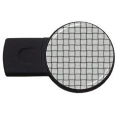 Gray Weave 2GB USB Flash Drive (Round)