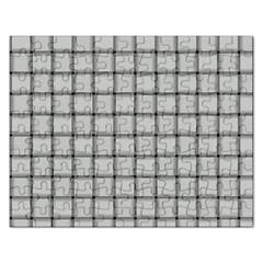 Gray Weave Jigsaw Puzzle (Rectangle)