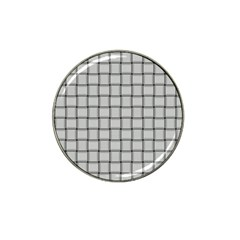 Gray Weave Golf Ball Marker (for Hat Clip)