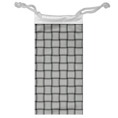 Gray Weave Jewelry Bag