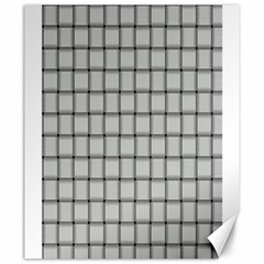 Gray Weave Canvas 20  x 24  (Unframed)