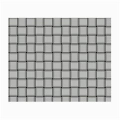 Gray Weave Glasses Cloth (Small, Two Sided)