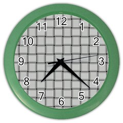 Gray Weave Wall Clock (Color)