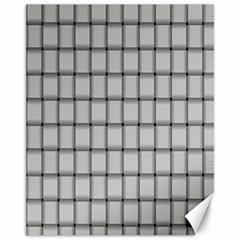 Gray Weave Canvas 11  x 14  9 (Unframed)