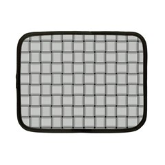 Gray Weave Netbook Case (Small)