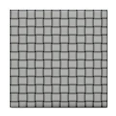 Gray Weave Face Towel
