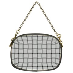 Gray Weave Chain Purse (Two Side)