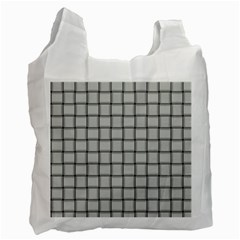 Gray Weave Recycle Bag (Two Sides)