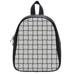 Gray Weave School Bag (small)