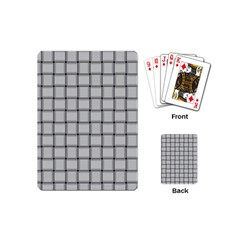 Gray Weave Playing Cards (Mini)