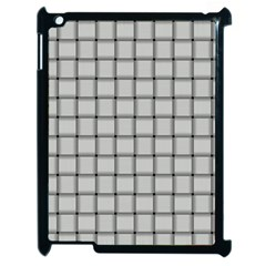 Gray Weave Apple iPad 2 Case (Black)