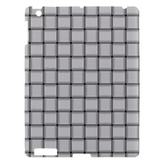 Gray Weave Apple iPad 3/4 Hardshell Case