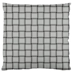 Gray Weave Large Cushion Case (Two Sides)