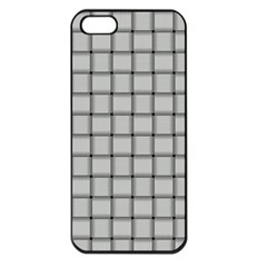 Gray Weave Apple Iphone 5 Seamless Case (black)