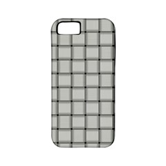 Gray Weave Apple Iphone 5 Classic Hardshell Case (pc+silicone)