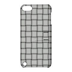 Gray Weave Apple iPod Touch 5 Hardshell Case with Stand