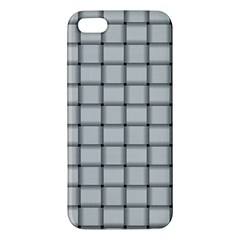 Gray Weave iPhone 5 Premium Hardshell Case