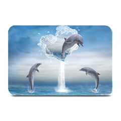 The Heart Of The Dolphins Table Mat