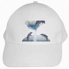 The Heart Of The Dolphins White Baseball Cap