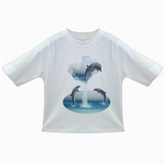 The Heart Of The Dolphins Baby T-shirt