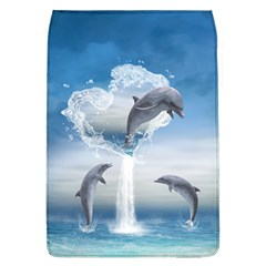 The Heart Of The Dolphins Removable Flap Cover (Large)