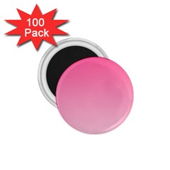French Rose To Piggy Pink Gradient 1.75  Button Magnet (100 pack)