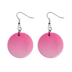 French Rose To Piggy Pink Gradient Mini Button Earrings