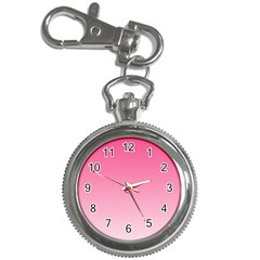 French Rose To Piggy Pink Gradient Key Chain & Watch