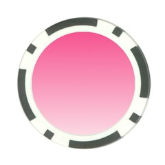 French Rose To Piggy Pink Gradient Poker Chip
