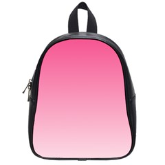 French Rose To Piggy Pink Gradient School Bag (small)