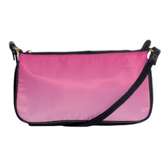 French Rose To Piggy Pink Gradient Evening Bag