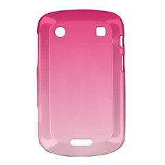 French Rose To Piggy Pink Gradient BlackBerry Bold Touch 9900 9930 Hardshell Case