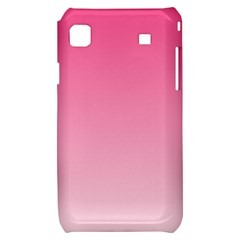 French Rose To Piggy Pink Gradient Samsung Galaxy S i9000 Hardshell Case