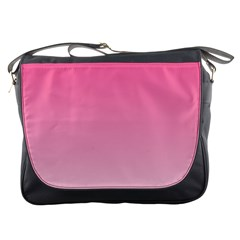 French Rose To Piggy Pink Gradient Messenger Bag
