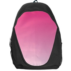 French Rose To Piggy Pink Gradient Backpack Bag
