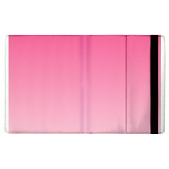 French Rose To Piggy Pink Gradient Apple iPad 3/4 Flip Case
