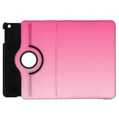 French Rose To Piggy Pink Gradient Apple Ipad Mini Flip 360 Case