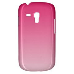 French Rose To Piggy Pink Gradient Samsung Galaxy S3 MINI I8190 Hardshell Case