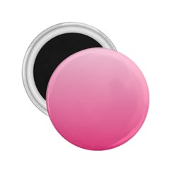 Piggy Pink To French Rose Gradient 2.25  Button Magnet