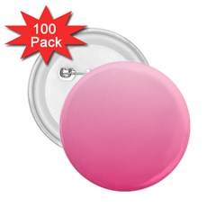 Piggy Pink To French Rose Gradient 2.25  Button (100 pack)